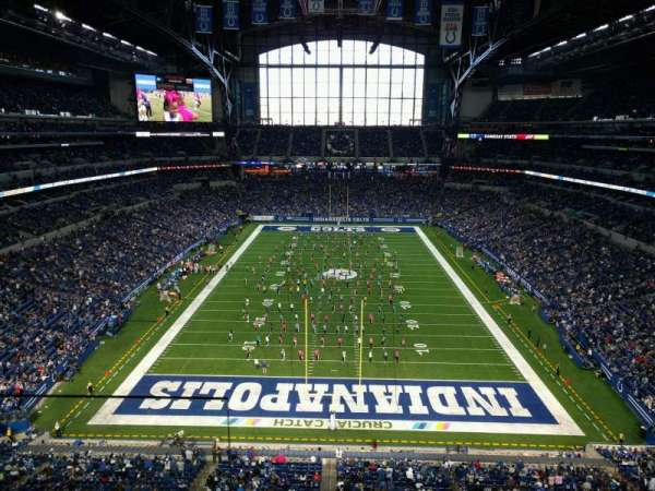 Lucas Oil Stadium, section: 526, rangée: 2, siège: 24