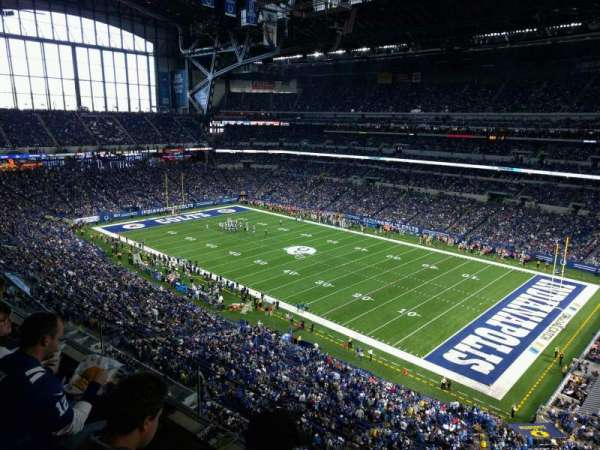 Lucas Oil Stadium, section: 534, rangée: 2, siège: 1