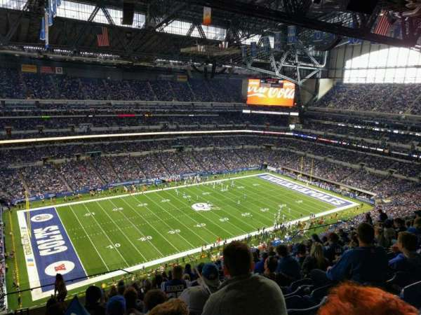 Lucas Oil Stadium, section: 644, rangée: 15, siège: 24