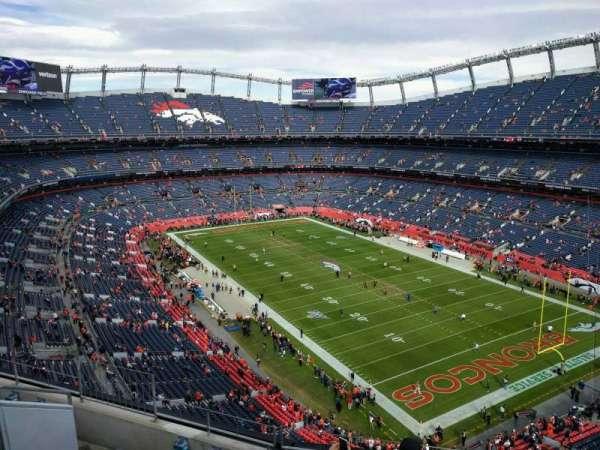 Empower Field at Mile High Stadium, section: 500, rangée: 6