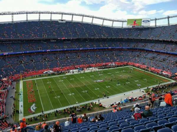 Empower Field at Mile High Stadium, section: 538, rangée: 16, siège: 21