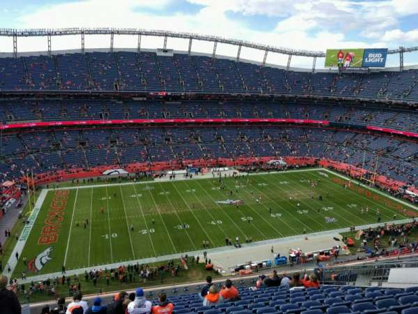 Empower Field at Mile High Stadium, section: 537, rangée: 14, siège: 21
