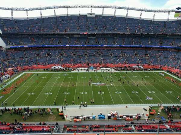 Empower Field at Mile High Stadium, section: 535, rangée: 4, siège: 7