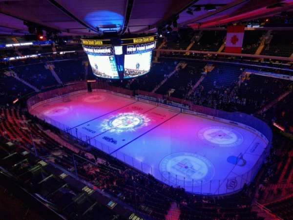Madison Square Garden, section: 328, rangée: 2, siège: 3