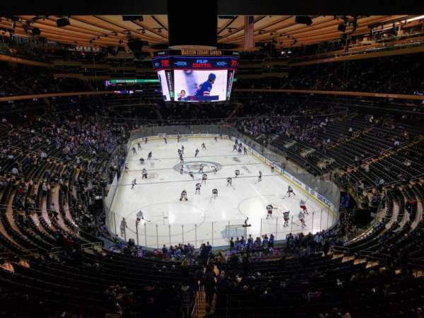 Madison Square Garden, section: 217, rangée: wc, siège: 2