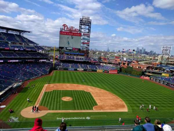 Citizens Bank Park, section: 316, rangée: 7, siège: 17