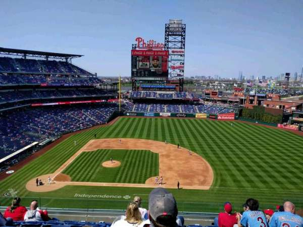 Citizens Bank Park, section: 315, rangée: 8, siège: 8