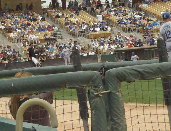 Camelback Ranch, section: 5, rangée: 1, siège: 8
