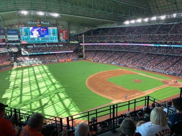 Minute Maid Park, section: 408, rangée: 1, siège: 1