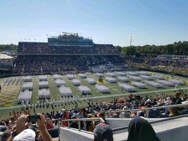 Navy-Marine Corps Memorial Stadium, section: 131, rangée: 17, siège: 11