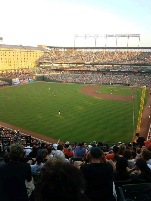 Oriole Park at Camden Yards, section: 380, rangée: 14, siège: 16