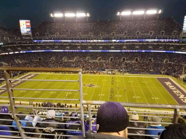 M&T Bank Stadium, section: 525, rangée: 5, siège: 14