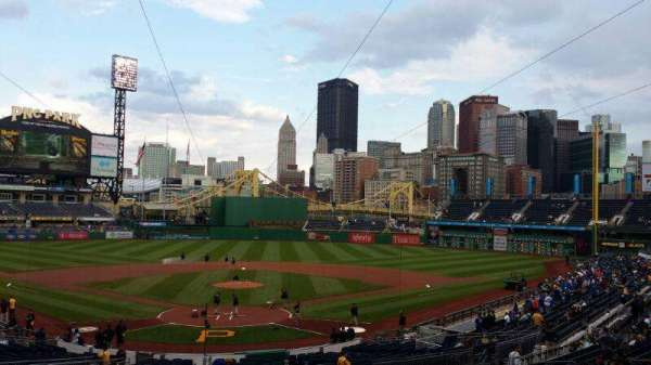 PNC Park, section: Standing Room, rangée: Standing, siège: Standing