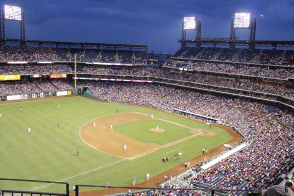 Citizens Bank Park, section: 431, rangée: 3, siège: 11