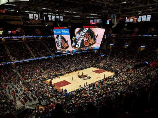 Quicken Loans Arena, section: 222, rangée: 5, siège: 4