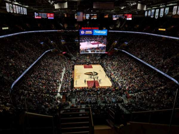 Quicken Loans Arena, section: 216, rangée: 10, siège: 17