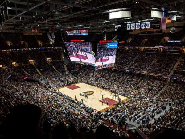 Quicken Loans Arena, section: 230, rangée: 8, siège: 4