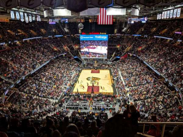 Quicken Loans Arena, section: 200, rangée: 11, siège: 16