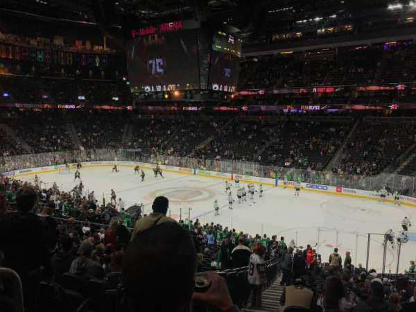 T-Mobile Arena, section: 8, rangée: Y
