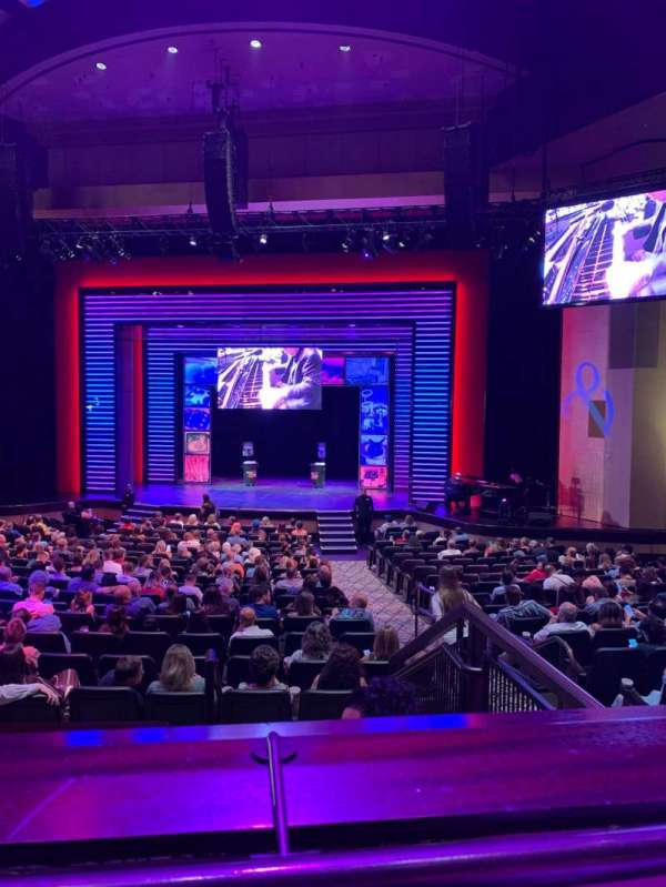 Penn & Teller Theater, section: 5, rangée: AA