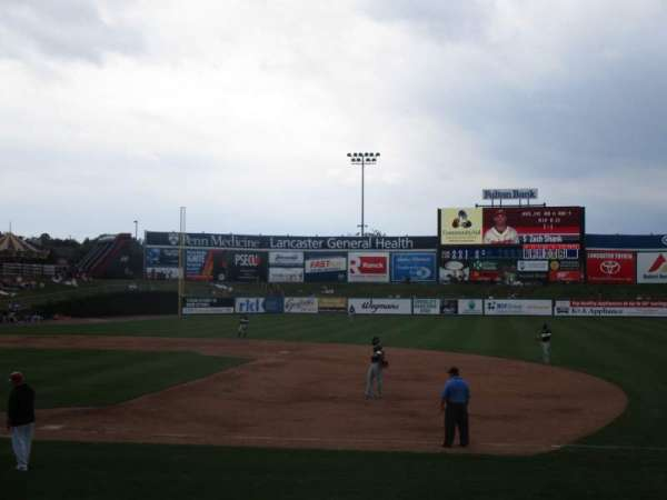 Clipper Magazine Stadium, section: 6, rangée: u, siège: 1