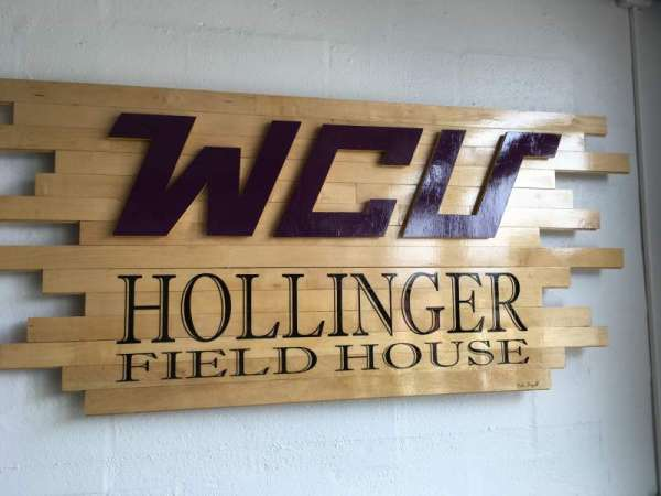 Hollinger Field House, section: FRONT