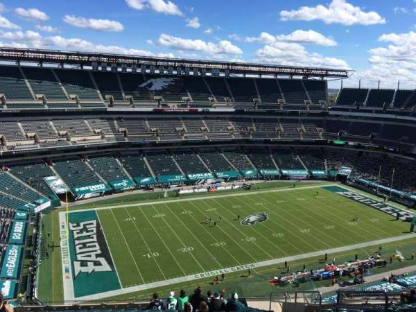 Lincoln Financial Field, section: 241, rangée: 21