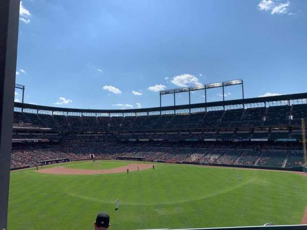 Oriole Park at Camden Yards, section: ROOF, rangée: ADECK
