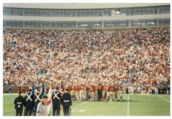 Bobby Bowden Field at Doak Campbell Stadium, section: 10, rangée: 1, siège: WC