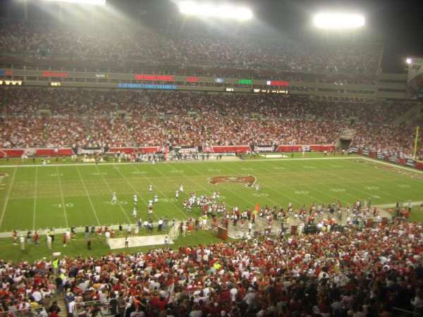 Raymond James Stadium, section: Suite 10 yd Line Home