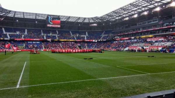 Red Bull Arena (New Jersey), section: 119, rangée: 2, siège: 21