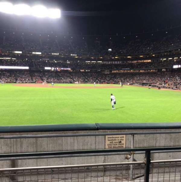 Oracle Park, section: 138, rangée: 2, siège: 11