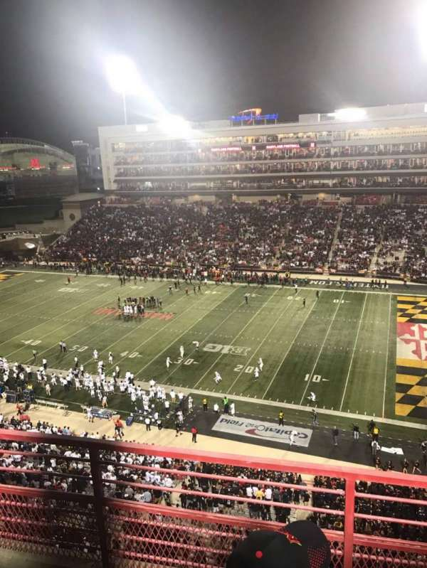 Maryland Stadium, section: 310, rangée: C, siège: 10