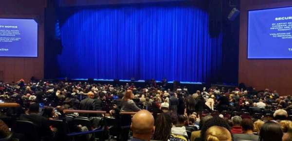 The Theater at MGM National Harbor, section: 102, rangée: K, siège: 12
