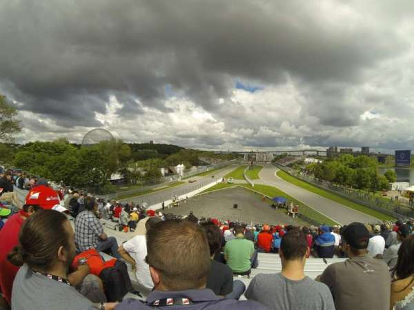 Circuit Gilles Villeneuve, section: 34