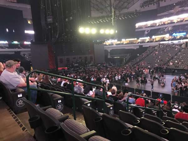 American Airlines Center, section: 117, rangée: U, siège: 14