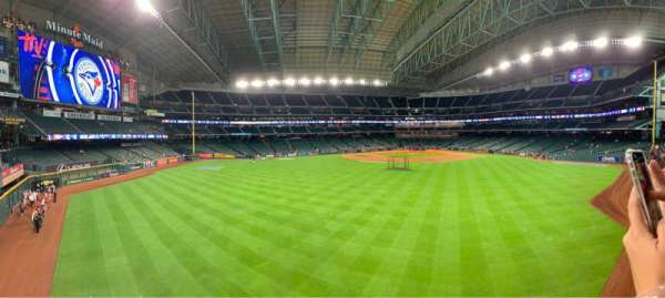 Minute Maid Park, section: Home Run Pump Deck