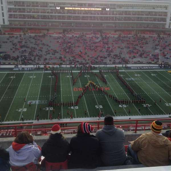 Maryland Stadium, section: 305, rangée: N, siège: 13