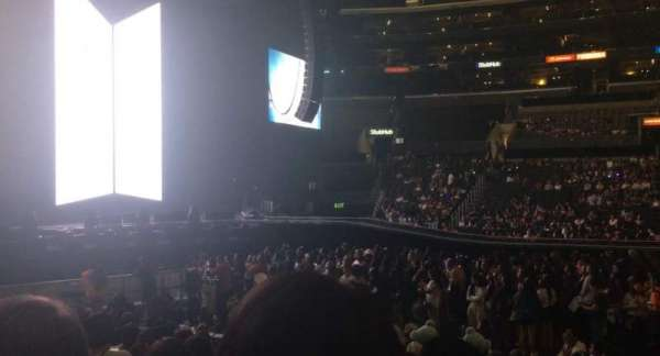 Staples Center, section: 112, rangée: 11, siège: 3