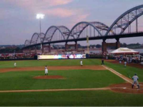 Modern Woodmen Park, section: 9