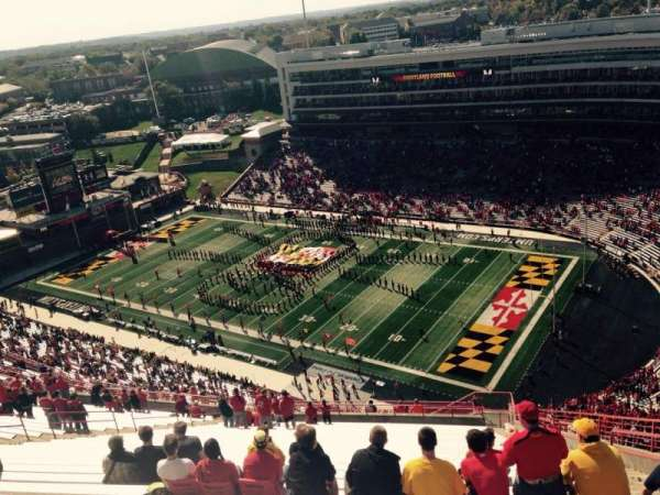Maryland Stadium, section: 312, rangée: KK, siège: 27
