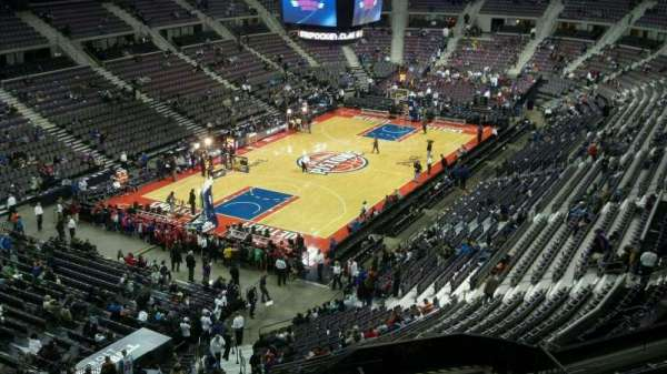 The Palace of Auburn Hills, section: 205, rangée: 8, siège: 013