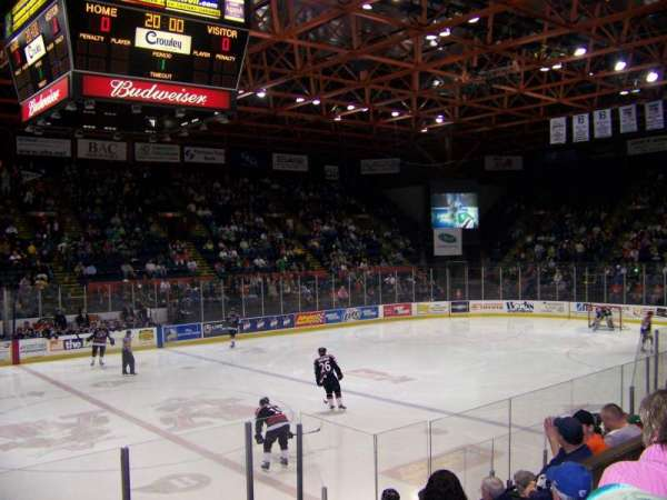 Floyd L. Maines Veterans Memorial Arena, section: 2, rangée: C, siège: 7