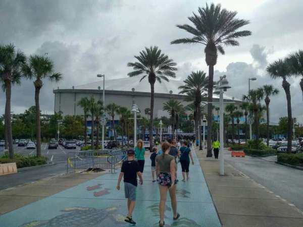 Tropicana Field, section: exterior