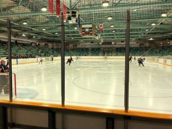 Waterloo Memorial Recreation Complex, section: 21, rangée: C, siège: 3