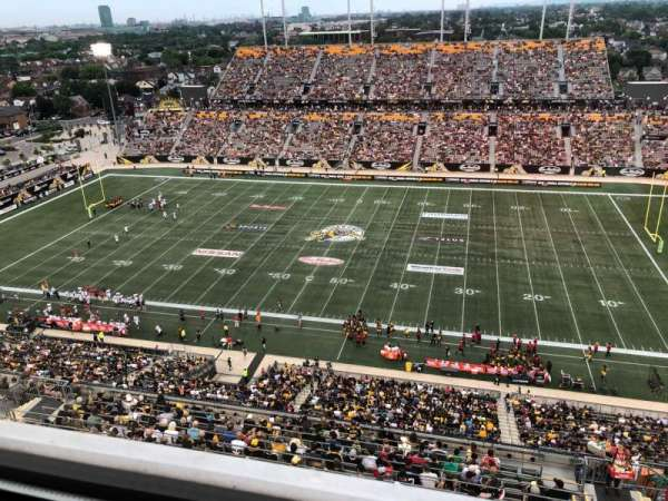 Tim Hortons Field, section: Press Box