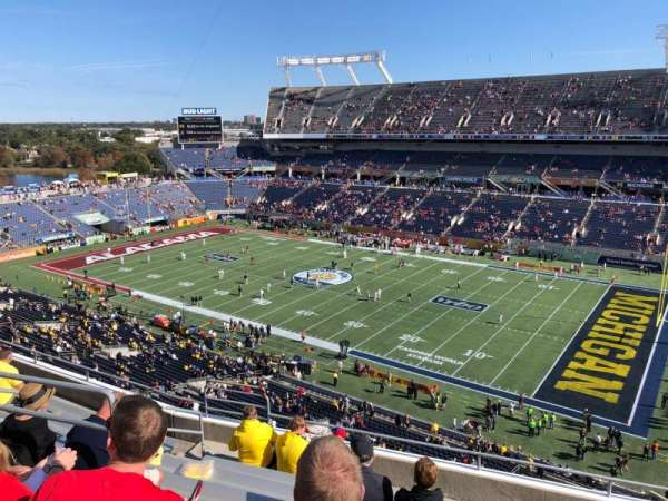 Camping World Stadium, section: 229, rangée: J, siège: 11