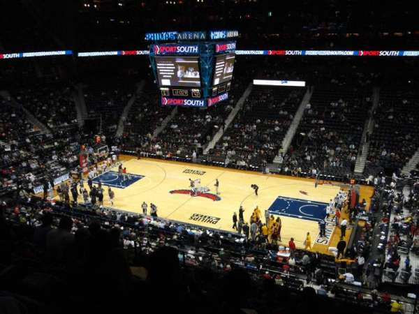 State Farm Arena, section: 222