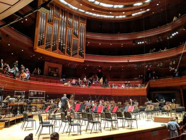 Verizon Hall at the Kimmel Center, section: Orch Box 24, siège: 3