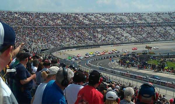 Dover International Speedway, section: Petty 249, rangée: 33, siège: 34